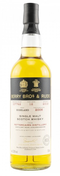 Fettercairn Single Malt Whisky 2006/2019 Berry Bros & Rudd