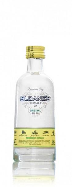 Sloane's Dry Gin Miniatur