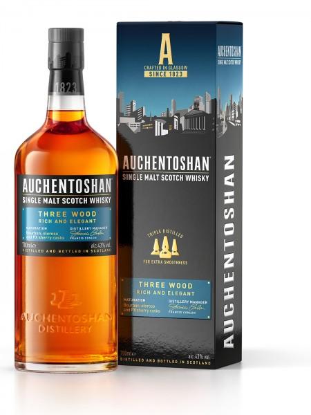 Auchentoshan 3 Wood Lowland Single Malt Whisky