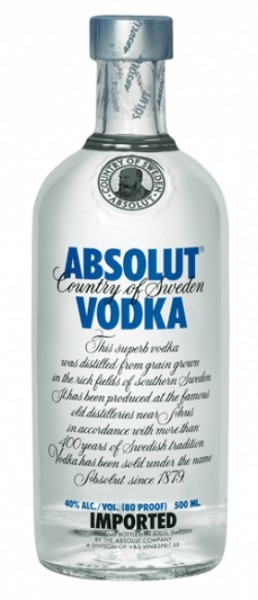 Absolut Vodka Blue Label