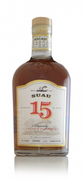 Suau Brandy Solera Reserva 15
