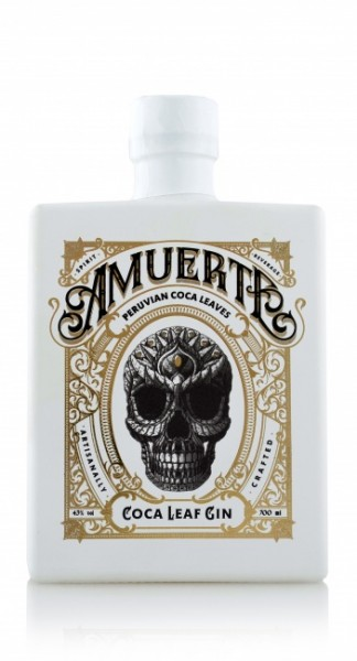 Amuerte Coca Leaf Gin White Edition