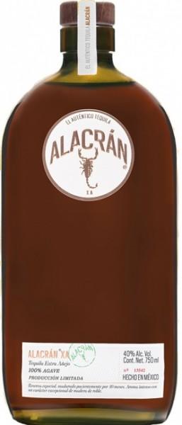 Alacrán Tequila Extra Anejo