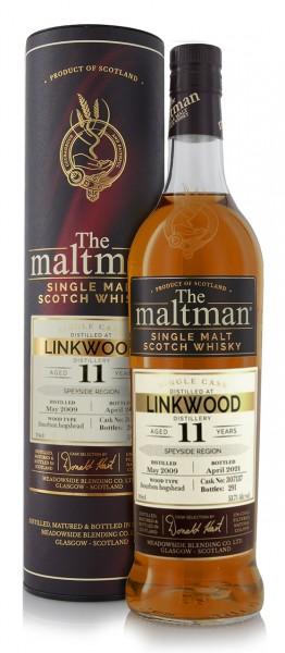 Meadowside Blending Linkwood Single Malt Whisky 11 Jahre 2009 The Maltman