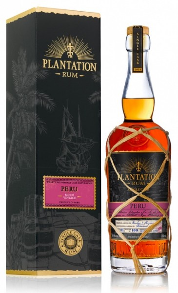 Plantation Peru Multi Vintage Willet Rye Cask