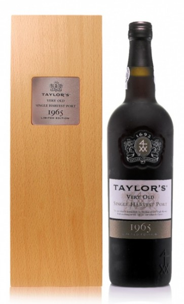 Taylor's Very Old Single Harvest Port 1965
