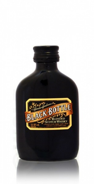 Black Bottle Miniatur