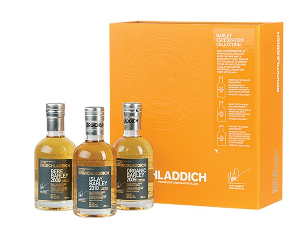 Bruichladdich Barley Exploration Collection