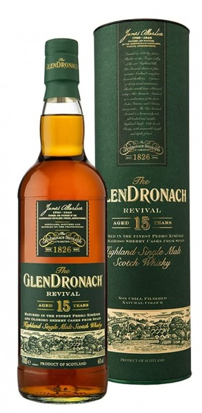 Glendronach Single Malt Whisky Revival 15 Jahre