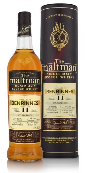 Meadowside Blending Benrinnes Single Malt Whisky 11 Jahre 2009 The Maltman