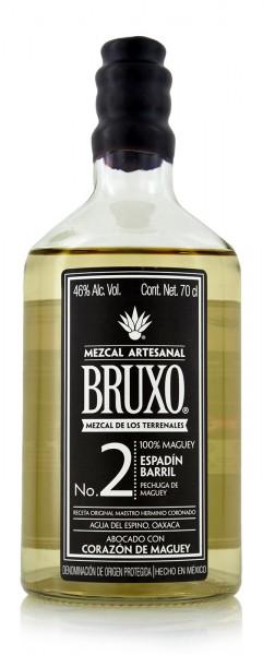 """Bruxo Mezcal No. 2 Espadin Barril """"Pechuga de Maguey"""""""
