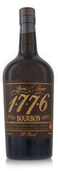 1776 James E. Pepper Straight Bourbon 92 Proof