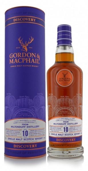 Miltonduff 10 Jahre Gordon & MacPhail Discovery