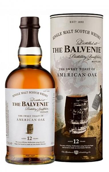 Balvenie Single Malt Whisky 12 Jahre American Oak