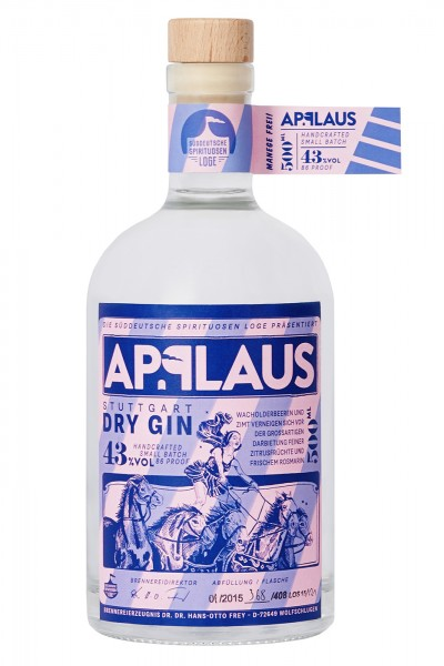 Applaus Stuttgart Dry Gin Original