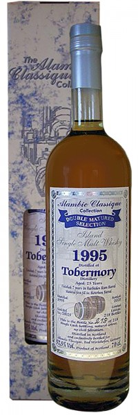 Tobermory 25 Jahre 1995 The Alambic Classic Collection