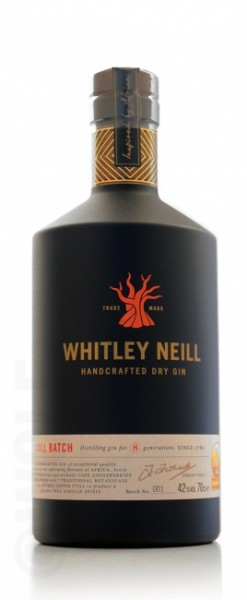 Whitley Neill African Inspired Handcrafted London Dry Gin