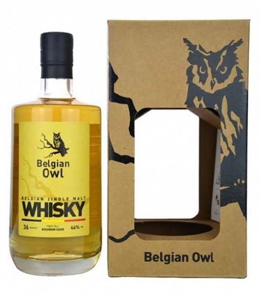 Belgian Owl First Fill Single Malt Bourbon Cask
