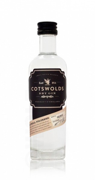 Cotswolds Dry Gin Miniatur