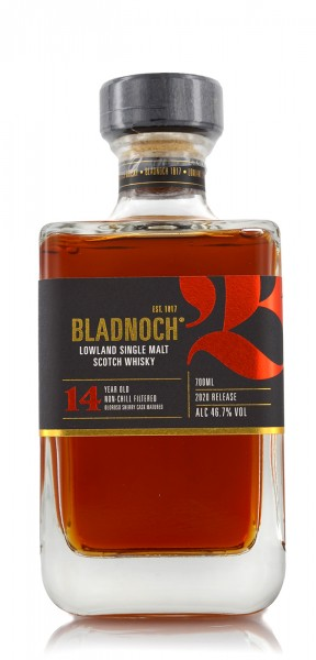Bladnoch Whisky 14 Jahre Oloroso Sherry Cask 2021 release