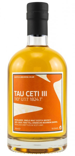 Scotch Universe Tau Ceti III 2011/2020