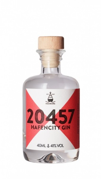 20457 Hafencity Gin Miniatur
