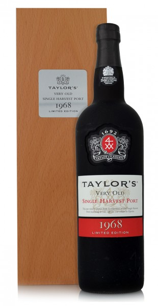 Taylor's Very Old Single Harvest Port 1968