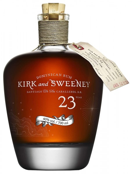 Kirk and Sweeney Rum 23 Jahre Reserva