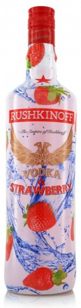Rushkinoff Vodka & Strawberry