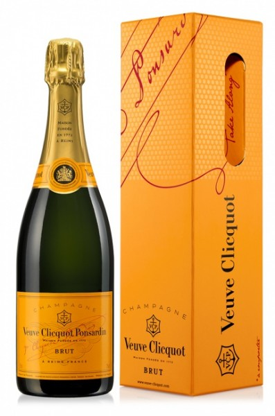 Veuve Clicquot Champagner Brut Yellow Label GP