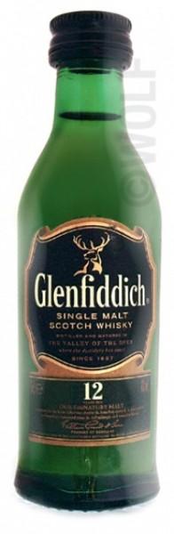 Glenfiddich 12 Jahre Miniatur