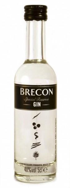 Brecon Special Reserve Gin Miniatur