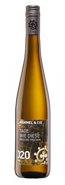 """Hammel & Cie Riesling """"Tage wie diese"""""""