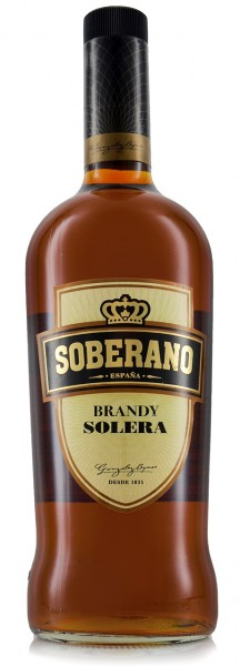 Soberano Brandy Solera