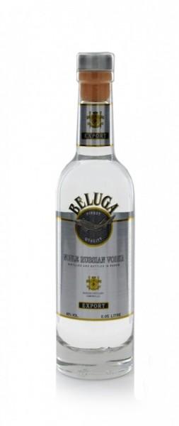 Beluga Export Noble Russian Vodka Miniatur