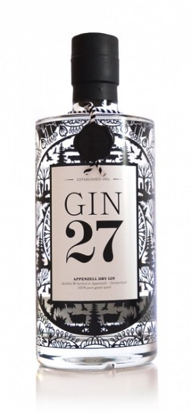 Gin 27 Appenzeller Dry Gin