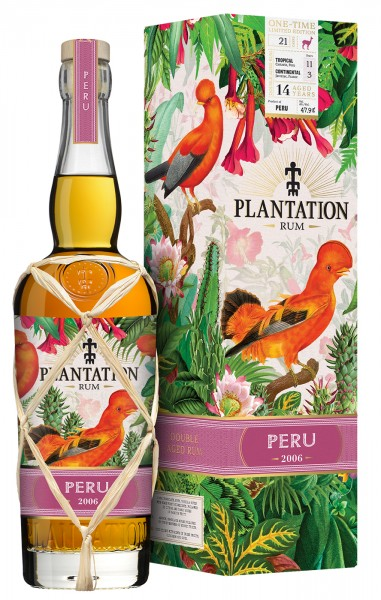 Plantation Rum Peru One Time limited Edition 2006