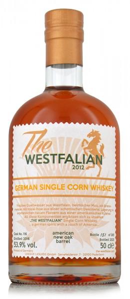 The Westfalian Single Corn Whiskey 2016/2021