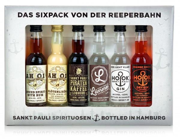 Sankt Pauli Sixpack von der Reeperbahn