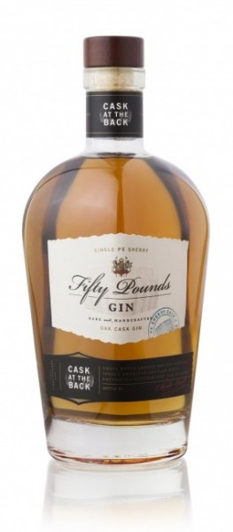 Fifty Pounds Gin Cask at the Back