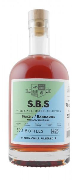 S.B.S Rum Brazil/Barbados