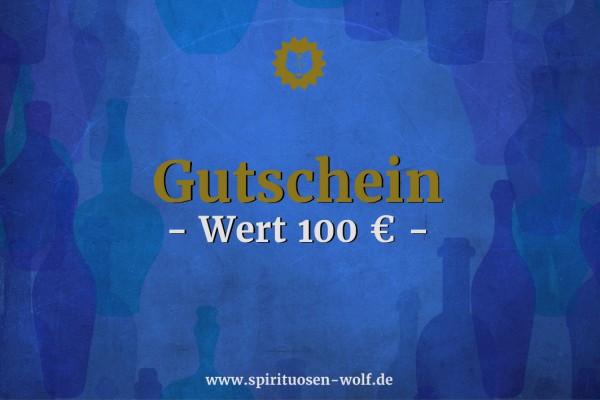 Geschenkgutschein Wert 100 EUR