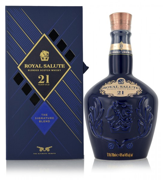 Chivas Royal Salute Blended Whisky 21 Jahre Signature