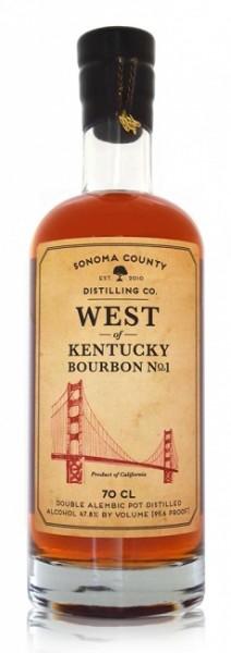 Sonoma West of Kentucky Bourbon No.1