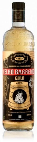 Velho Barreiro Cachaça Gold