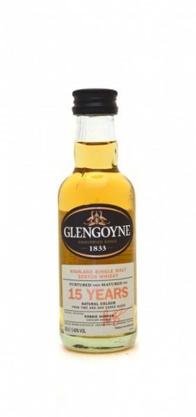 Glengoyne 15 Jahre Miniatur