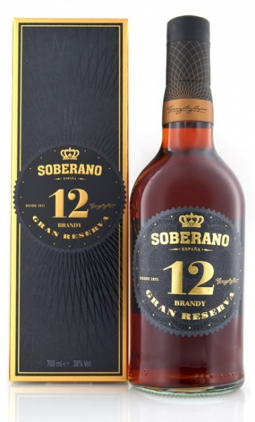 Soberano Brandy Gran Reserva 12 Jahre