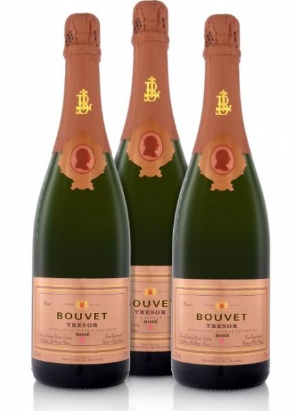 Bouvet-Ladubay Tresor Rosé (3 x 0.75 l)
