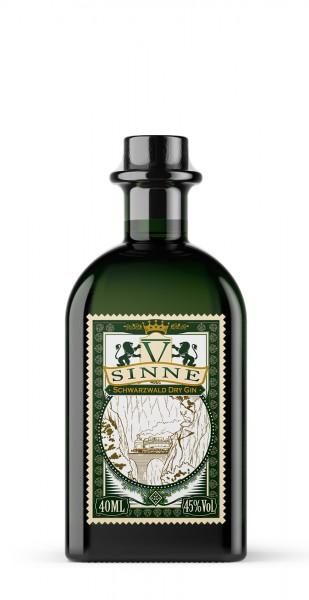 V-Sinne Schwarzwald Dry Gin Miniatur