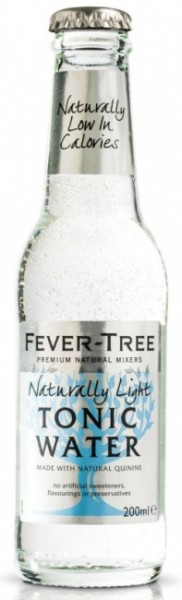 Fever Tree Naturally Light Tonic Water Einzelflasche